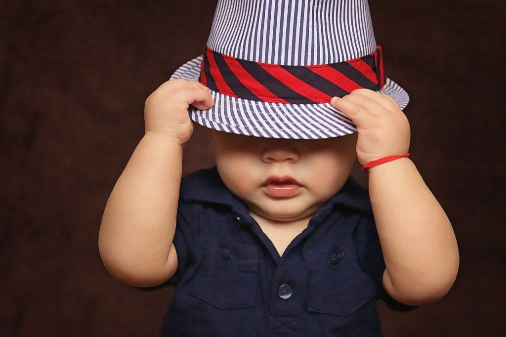 Schattige baby kleding